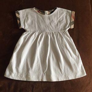 Burberry White Dress